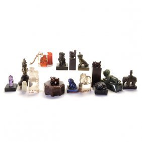 An Assortment Of Chinese Seals