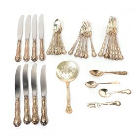 Wallace Old Atlanta Sterling Flatware Service