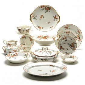 Haviland Limoges China Service With Prunus