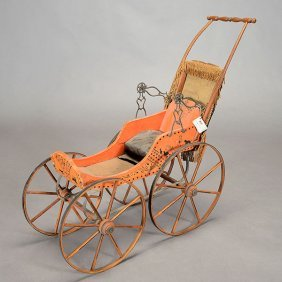 Miniature Buggy, Circa 1880