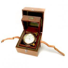 English Thomas Mercer Cased Marine Chronometer
