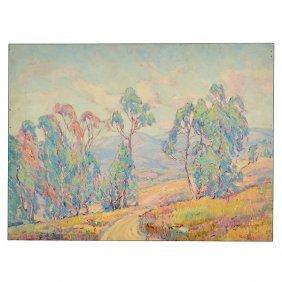 """Marie Boening Kendall """"eucalyptus Trees"""" Cal Art"""