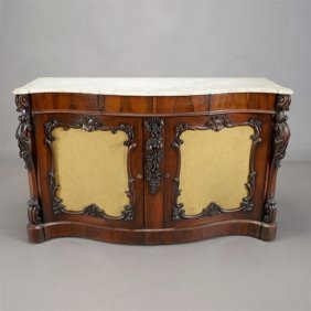 American Renaissance Revival Two Door Buffet With