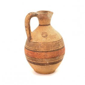 Cypriot Pottery Ewer