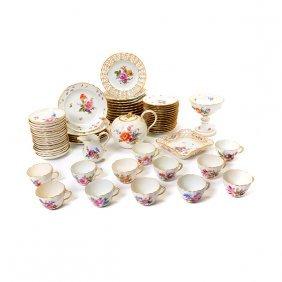 Set Of Meissen Porcelain China