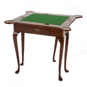 Georgian Mahogany Game Table
