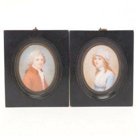 Richard Cosway, Portrait Miniatures