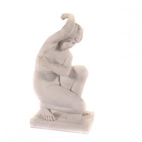 Marble Figure Of The Bathing Venus
