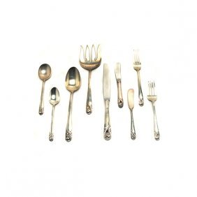 International Spring Glory Sterling Silver Flatware