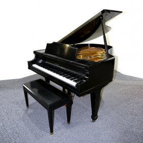 Kimball Black Baby Grand Piano