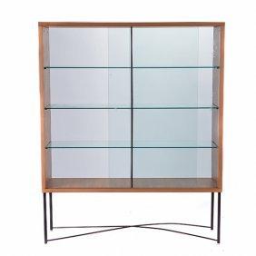 Italian Flexform Glass Front Display Case