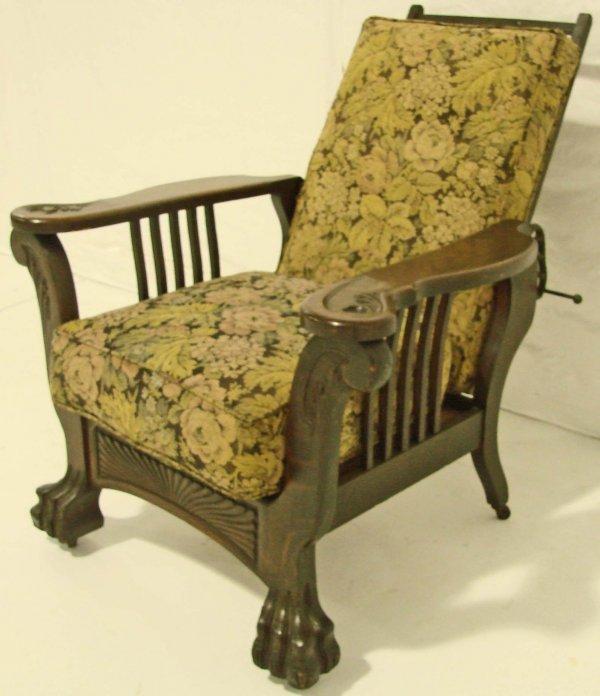 oak morris chair  1