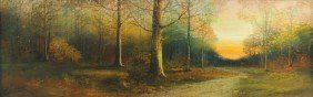 Harry Linder (Finland, 1886-1931) Forest Landscape