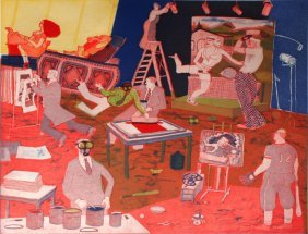 Warrington Colescott (b.1921) History Of Printmakin