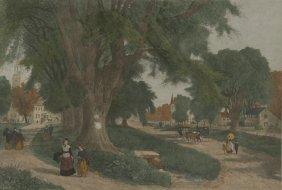 Artist Unknown (20th Century) The Village Elms, Co