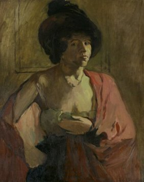 Arthur C. Goodwin (1864-1929) Study Of A Lady,