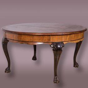 An Austrian Mahogany Circular Dining Table,