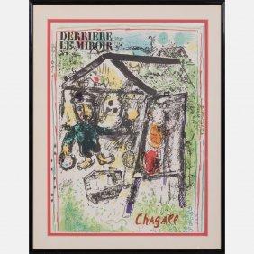 Marc Chagall (1887-1985) Derriere Le Miroir, C. 1969,