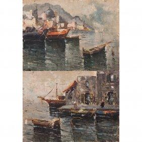Artist Unknown (20th Century) Napoli And S. Felic