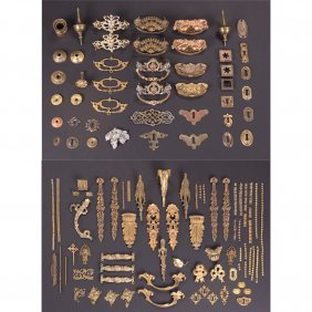 A Miscellaneous Collection Of Ormolu, Bronze, Brass,