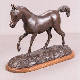 Thomas C. Mccullough (20th Century) Horse Figure,