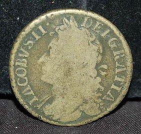 GREAT BRITTAIN 1689 COIN