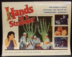 Hands Of A Stranger (1962) Half Sheet