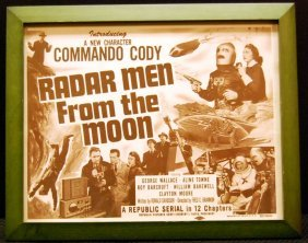 Movie Card For Radar Men From The Moon