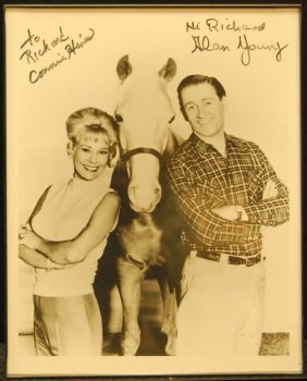Autographed Picture Of Mr. Ed Stars