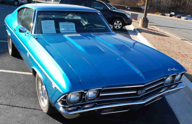 Chevy Chevlle Autos Post