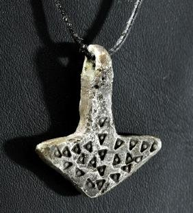 Viking Silver Thor's Hammer