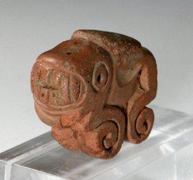 Pre-Columbian Recuay Jaguar Amulet