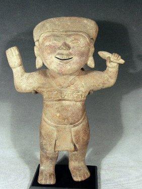 Pre Columbian Vera Cruz Pottery Sonriente, Mexico