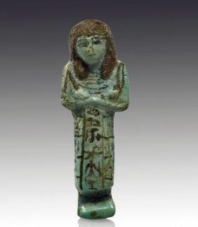 An Egyptian Overseer Ushabti