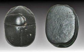 Egyptian Hematite Scarab - New Kingdom