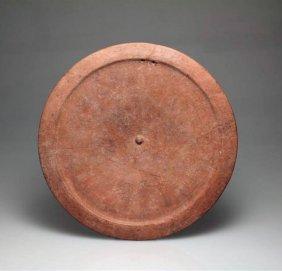 A Roman Redware Dish