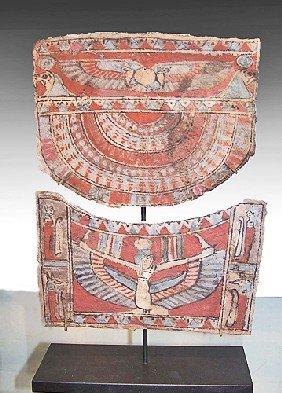 An Egyptian Cartonnage Ensemble
