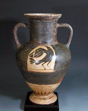 A Greek Corinthian Black-Figure Amphora