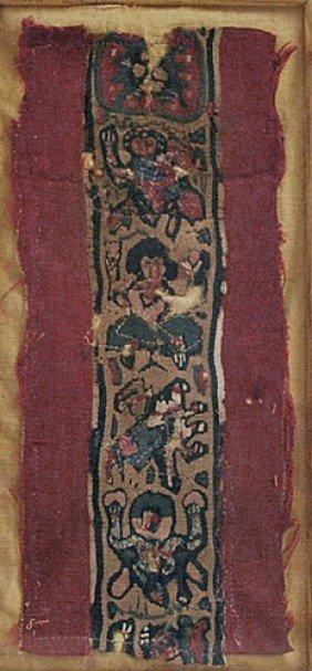 An Egyptian Coptic Textile Figural Panel