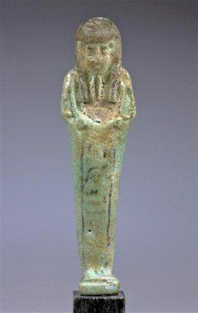 An Egyptian Late Period Ushabti