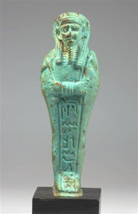 An Egyptian Ushabti, Ptolemaic Period