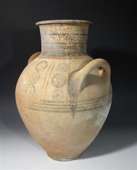 A Large Cypriot Terracotta Amphora