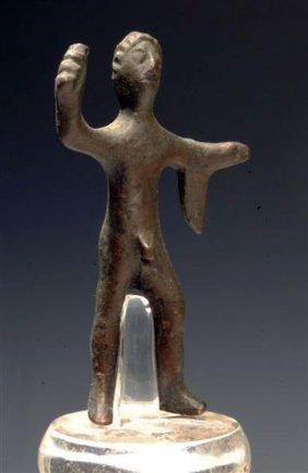 An Etruscan Bronze Votive Heraklese