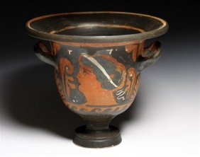 A Greek Red Figure Krater