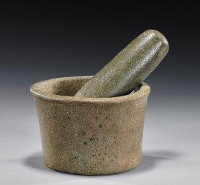 Early Chavin Stone Mortar & Pestle