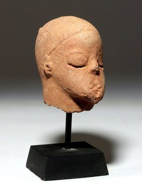 African Katsina Terracotta Head, Ex-arnovick