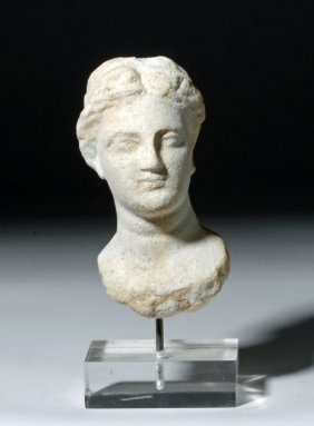 Greek Hellenistic Marble Head Of Aphrodite