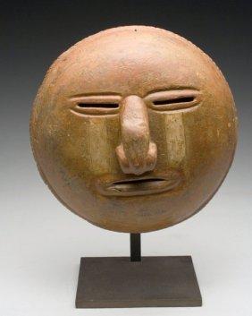 Calima Terracotta Sun Face Mask. Ex-hollywood
