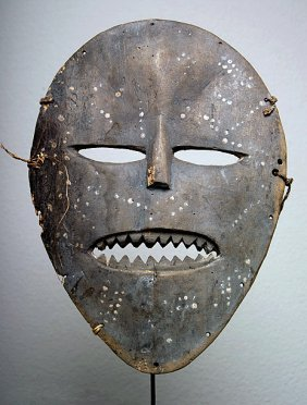 Dr Congo Ndaaka Wood Face Mask For Initiation