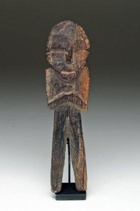 Wari / Huari Anthropomorphic Wood Figure